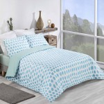 King size bed Duvet Cover with Pillowcases Green Apple Design