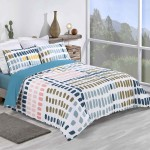 King size bed Duvet Cover with Pillowcases Paint Palette Design