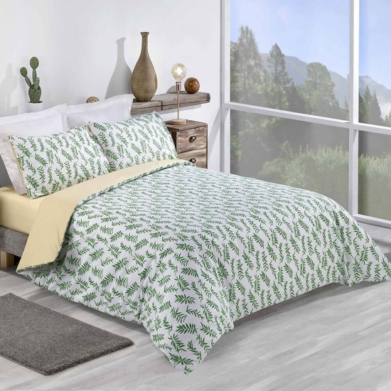 Super King Duvet cover with Pillowcases Rowan design