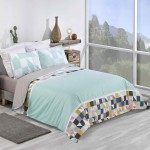 Super King size Duvet cover with Pillowcases Spring design
