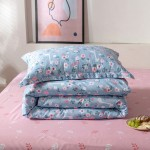Giraffe Garden Cotton Duvet Cover Double with matching Pillowcases
