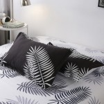 Big Blatt Soft Polyester Fabric Duvet Cover with Pillowcases and Bedsheet