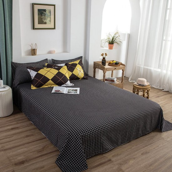 Music Prufer Soft Polyester Fabric Duvet Cover with Pillowcases and Bedsheet