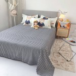 Hello Teddy Soft Polyester Fabric Duvet Cover with Pillowcases and Bedsheet