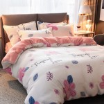 Tropical Love Duvet Cover King size with matching Pillowcases Soft Fleece