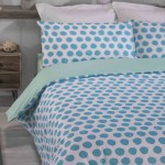 Super King Duvet cover with Pillowcases Green Apple design