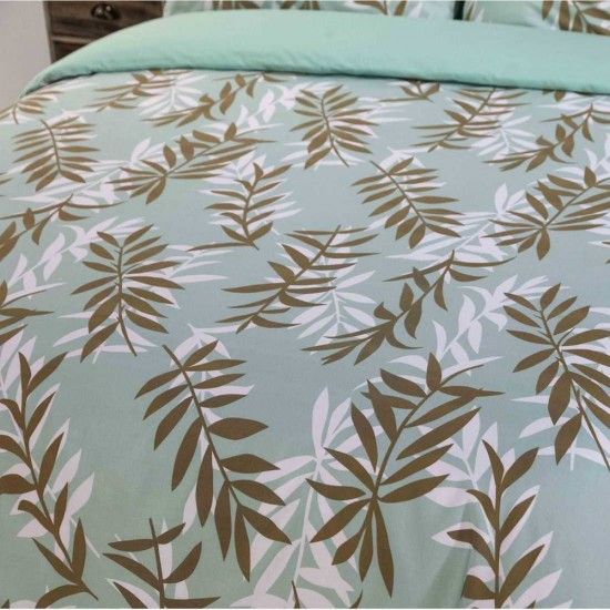 Double Bed Duvet Cover with Pillowcases Bonsai Design
