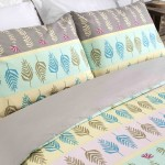 Super King Duvet cover with Pillowcases Fern design