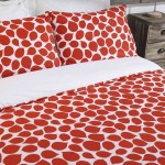 King size bed Duvet Cover with Pillowcases Rose Petal Design