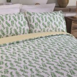 Double Bed Duvet Cover with Pillowcases Rowan deign