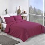 Super King size Standard Duvet Cover with Pillowcases Anemone