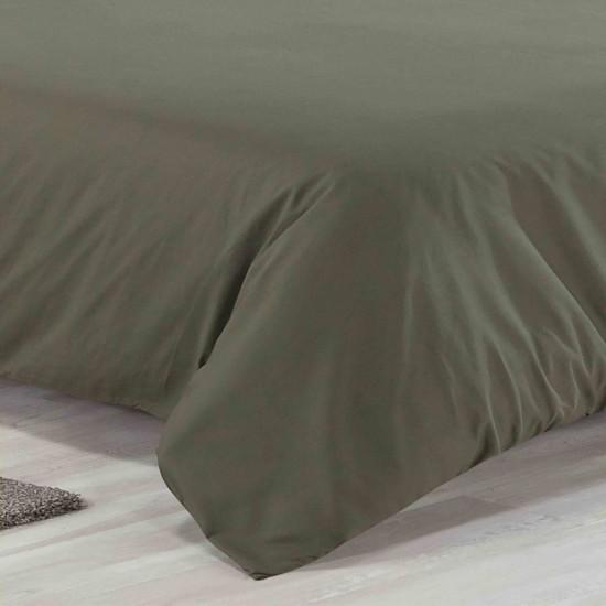 Super King size Premium Quality Duvet set in Olive colour